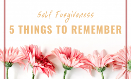 Self-forgiveness: 5 things to remember